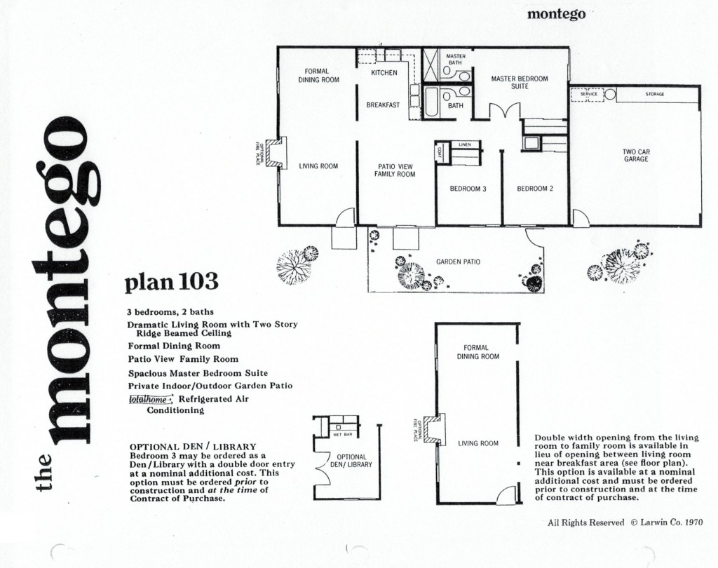 Montego Rockpointe Condos 3 Bedroom Floor Plan