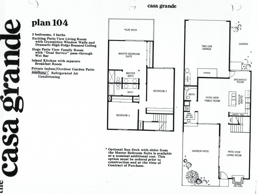 Rockpointe Condos Casa Grande 3 Bedroom Floor Plan