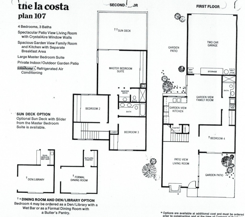 Rockpointe Condos La Costa 4 Bedroom Floor Plan