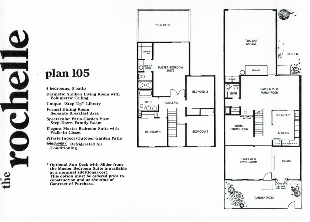 Rockpointe Condos Rochelle 4 Bedroom Floor Plan